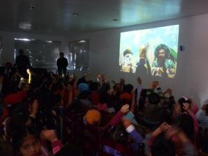 El 21 de noviembre los niños hablan con los Reyes Magos desde su escuela