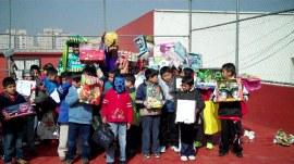 Mas de 250 niños recibieron los juguetes que pidieron a los Reyes Magos