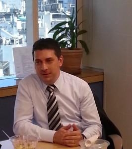 Ghassan Dreibi, Gerente de Desarrollo de Negocios de Enterprise Networking y Seguridad para Cisco América Latina .