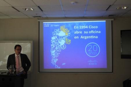 Gabriel Sakata - Gerente General de Cisco Argentina, Paraguay y Uruguay 2
