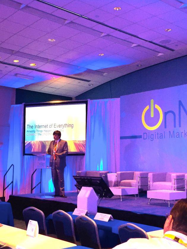 Gustavo Sorgente, presentando IoE en Puerto Rico