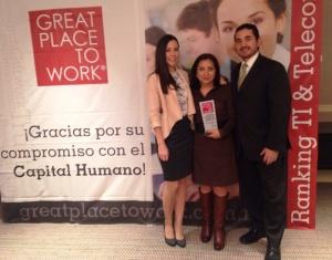 Integrantes del equipo de Recursos Humanos recibió el reconocimiento