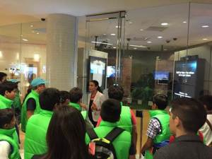 Visitaron el Executive Briefing Center de Cisco