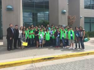 Los ganadores visitaron el corporativo de Cisco en San José
